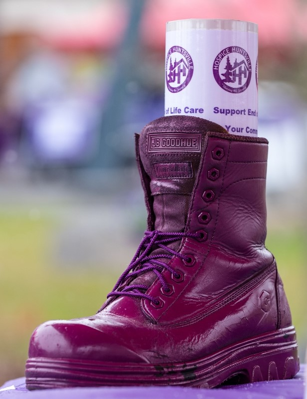 Purple Boot Campaign